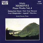 Mosonyi: Piano Works, Vol 4 (CD)