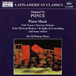 Ponce: Piano Music (CD)