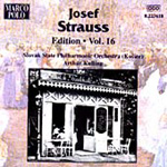 Produktbilde for Josef Strauss Edition, Vol 16 (USA-import) (CD)