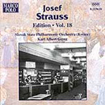Josef Strauss Edition, Vol 18 (CD)