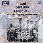 Strauss, Josef: Edition, Vol 21: Waltzes (CD)