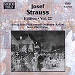 Strauss, J: Josef Strauss Edition Vol 22 (CD)