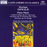 Oswald: Piano Music (CD)