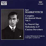 Markevitch: Orchestral Works, Vol. 1 (CD)