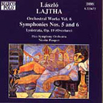 Lajtha: Orchestral Works, Vol. 6 (CD)