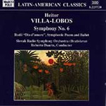 Villa-Lobos: Symphony No. 6, etc (CD)