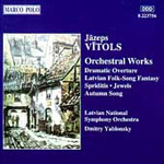 Vitols: Orchestral Works (CD)