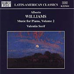 Williams, A: Music for Piano, Volume 2 (CD)