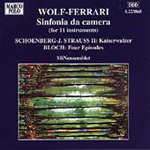 Wolf-Ferrari/J Strauss II/Bloch: Chamber works (CD)