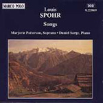 Spohr: Songs (CD)