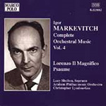 Markévitch: Complete Orchestral Works, Volume 4 (CD)