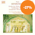 Produktbilde for Hindemith: Orchestral Works (CD)