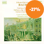 J. C. Bach: Sinfonias, Vol. 3 (CD)