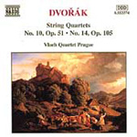 Dvorák: String Quartets Nos. 10 and 14 (CD)