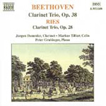 Beethoven/Ries: Clarinet Trios (CD)