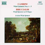 Briccialdi/Cambini: Wind Quintets (CD)