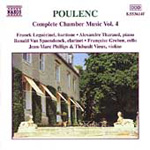 Poulenc: Complete Chamber Music, Volume 4 (CD)