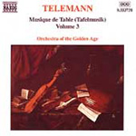 Telemann: Musique de Table, Vol 3 (CD)