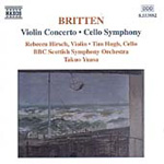 Britten: Violin Concerto; Cello Symphony (CD)