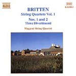 Britten: String Quartets, Vol 1 (CD)
