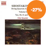 Shostakovich: String Quartets Nos 10, 11 & 13 (CD)