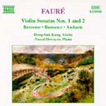 Fauré: Violin Sonatas etc (CD)