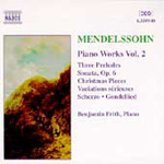 Mendelssohn: Piano Works, Vol. 2 (CD)