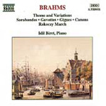 Brahms: Transciptions for piano (CD)