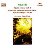 Weber: Piano Works, Vol. 1 (CD)