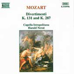 Mozart: Divertimentos, K131 & K287 (CD)
