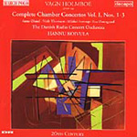 Holmboe: Chamber Concertos, Vol. 1 (CD)