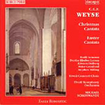Weyse: Christmas & Easter Cantatas (CD)