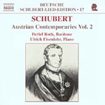 Schubert: Austrian Contemporaries, Vol 2 (CD)