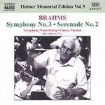 Brahms: Serenade No 2; Symphony No 3 (CD)