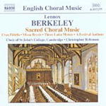 Berkeley: Choral Works (CD)