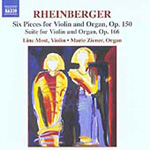 Rheinberger: (6) Pieces for Violin and Organ (CD)