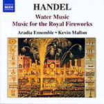 Handel: Music for the Royal Fireworks; Water Music (CD)