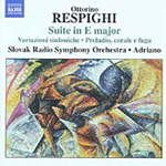 Respighi: Early Orchestral Works (CD)