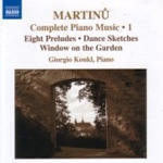 Martinu: Complete Piano Works, Vol 1 (CD)