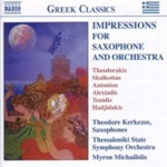 Impressions for Saxophone & Orchestra (CD)