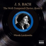 Bach: The Well-Tempered Clavier, Book 2 (CD)