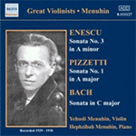 Menuhin - Violin Sonatas, Vol 5 (CD)