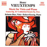 Vieuxtemps: Viola & Piano Chamber Works (CD)