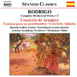 Rodrigo: Complete Orchestral Works, Vol 2 (CD)