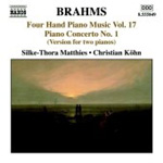 Brahms: Four-Hand Piano Works, Vol 17 (CD)