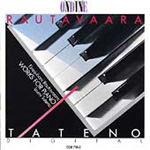 Rautavaara: Works for Piano (CD)