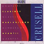 Crusell: Clarinet Quartets (CD)