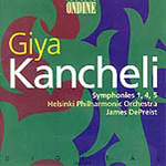 Kancheli: Symphonies Nos 1, 4 and 5 (CD)