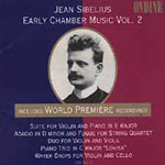 Produktbilde for Sibelius: Early Chamber Music, Vol. 2 (USA-import) (CD)
