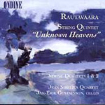 Rautavaara: String Quartets 1 & 2/String Quintet (CD)